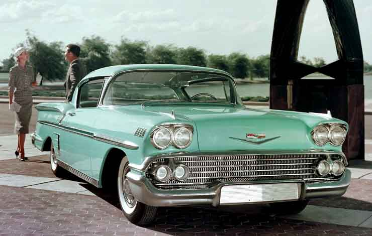 Chevrolet Bel Air Impala Sport Coupe 1958 г.