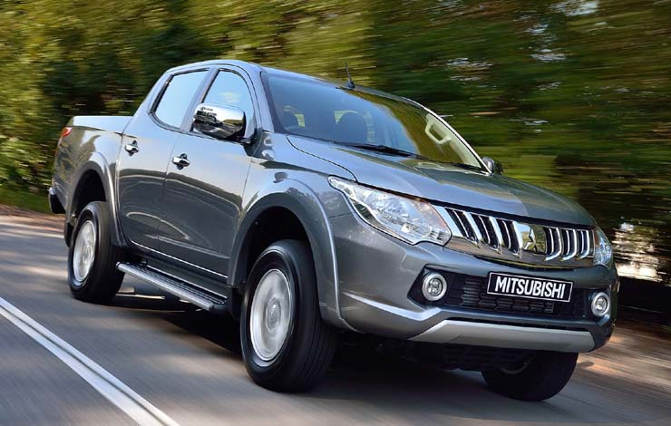 Пикап Triton - экспортная продукция Mitsubishi Motors (Thailand) Co., Ltd.