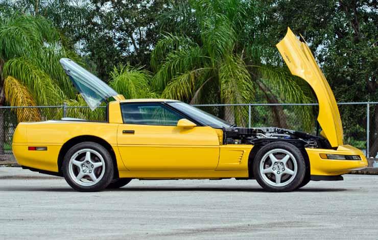 Chevrolet Corvette ZR1 Sport Coupe 1995 г. (четвёртое поколение)