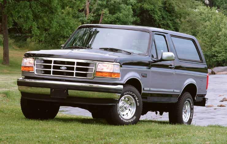 Ford Bronco пятого поколения, 1996 г.
