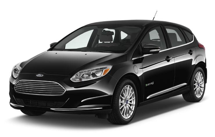 """Ford Focus Electric – единственный """"чистокровный"""" электромобиль в модельной гамме Ford, оснащённый 143-сильным электромотором, литиевыми батареями (33,5 кВт/ч) и 1-ступенчатой автоматической трансмиссей"""