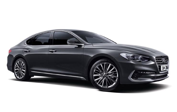С 1986 года, когда дебютировал Hyundai Grandeur первого поколения, на мировом рынке продано 1,86 млн. автомобилей этой модели
