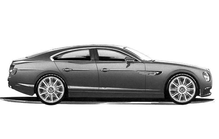 Седан Bentley 2018 г.