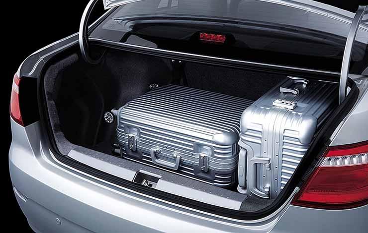 Объем багажника увеличен до 650 л
