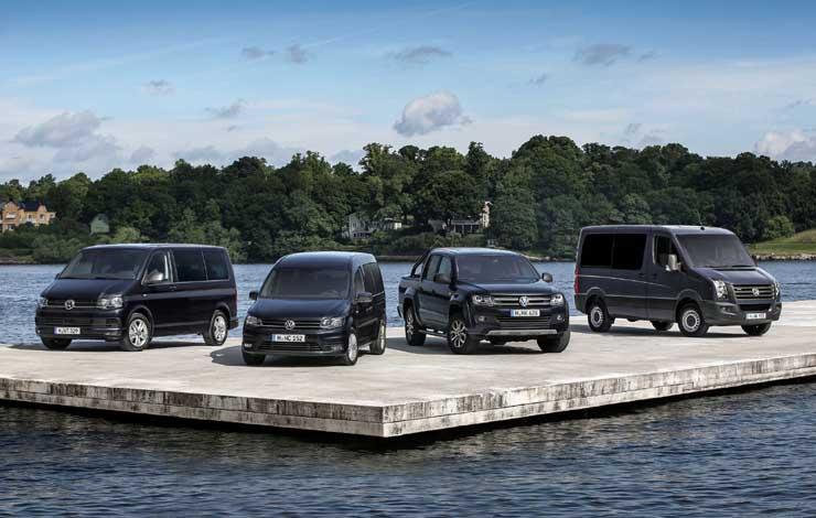Модельный ряд Volkswagen Commercial 2016 года