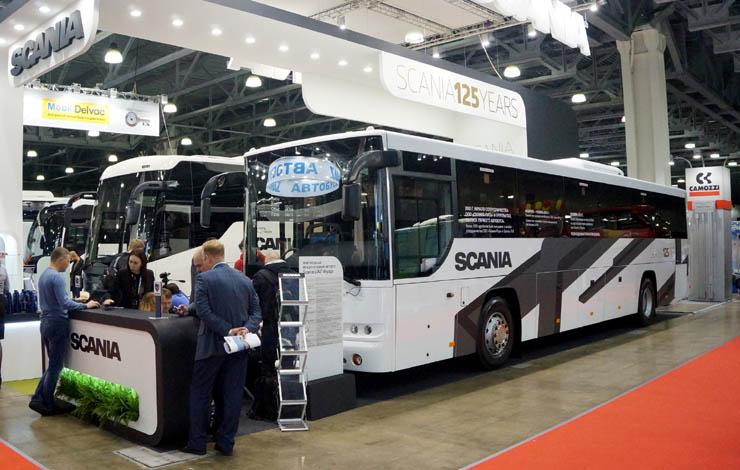 """Междугородний автобус ЛиАЗ-5251 """"Вояж"""" на шасси Scania"""