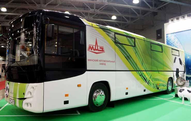 Автобус МАЗ-231 c двигателем Mercedes-Benz