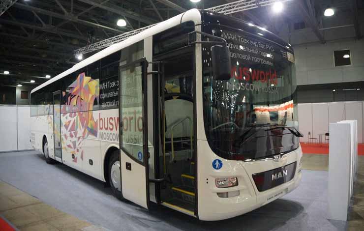Пригородный автобус MAN Lion's Intercity