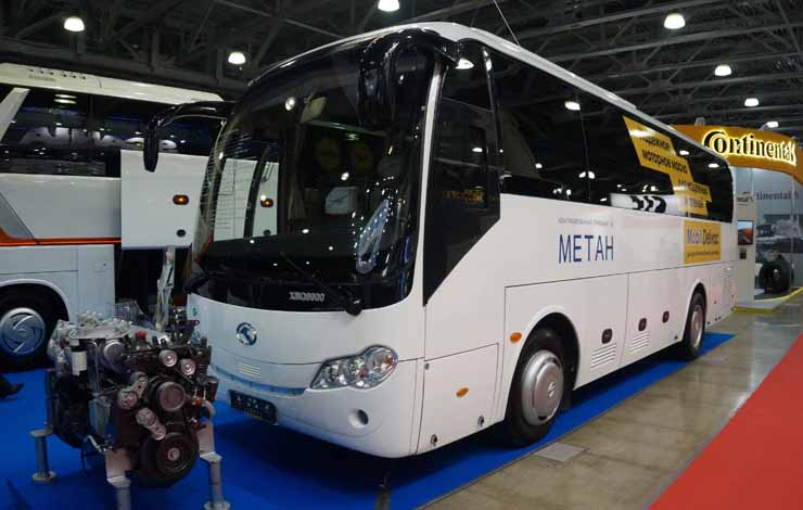 Автобус King Long XMQ6900 c газовым двигателем Yuchai