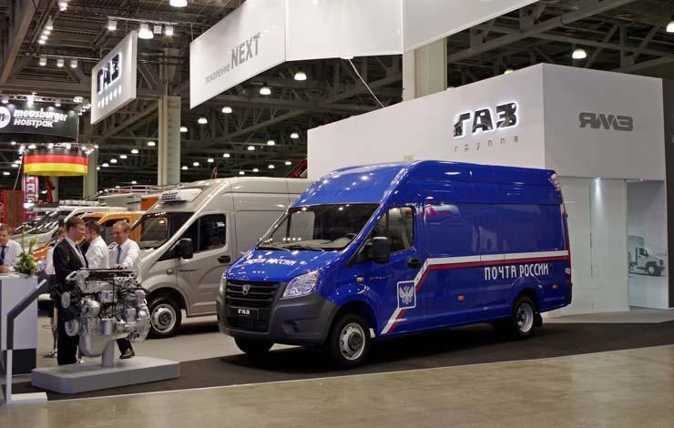 Почтовый фургон «ГАЗель NEXT» для доставки корреспонденции