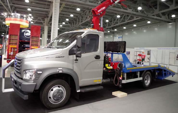Сервисная мастерская на базе «ГАЗель NEXT» с набором оборудования Sortimo