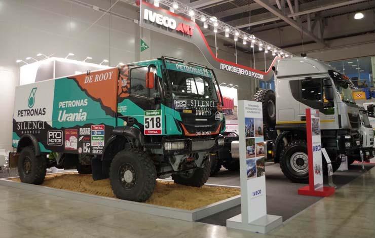 СП «ИВЕКО-АМТ» продемонстрировало модели тяжелых и среднетоннажных грузовиков