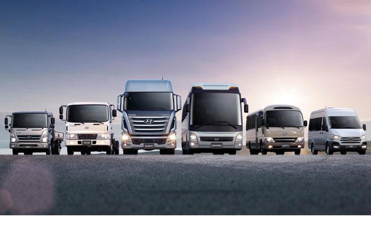 Модельная гамма Hyundai Truck and Bus