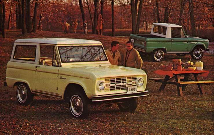 Ford Bronco первого поколения, 1966 г.