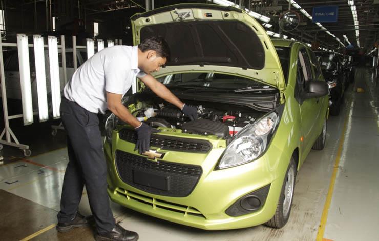 Завод в г. Калол. Сборка Chevrolet Spark продлится до марта 2017 г.