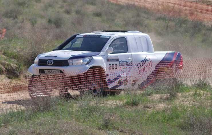 Toyota HIlux Евгения Фирсова