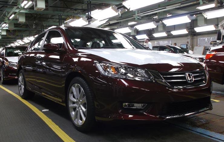 24 марта 2014 года. 10-миллионный Honda Accord покидает сборочную линию завода в г. Мэрисвилл (штат Огайо). Это первое японское автомобильное предприятие в Соединённых Штатах было пущено в эксплуатацию в ноябре 1982 года