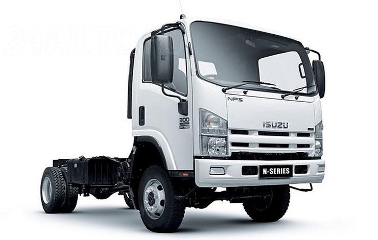 Полноприводный грузовой автомобиль ISUZU NPS75