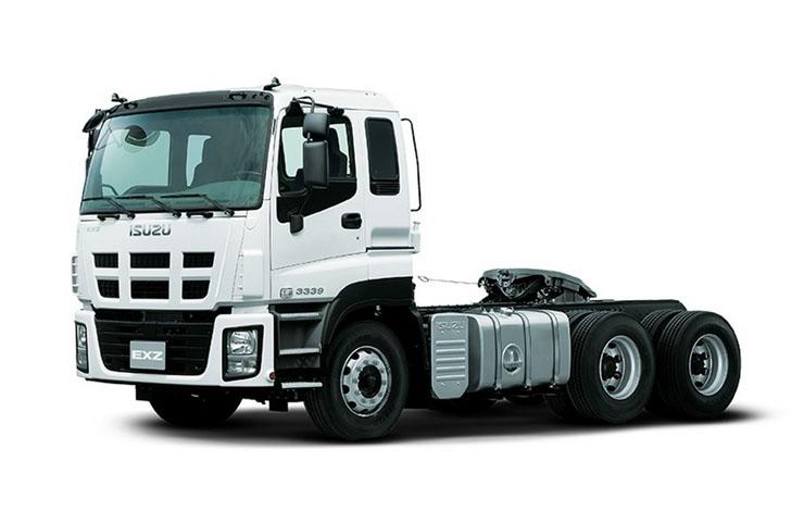 Седельный тягач ISUZU серии EXZ с колесной формулой 6х4