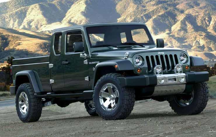 Jeep Gladiator Concept 2005 г.