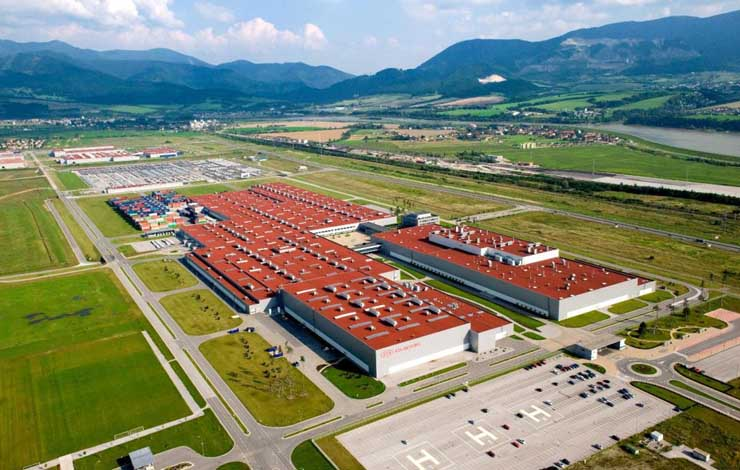 Завод Kia Motors Slovakia