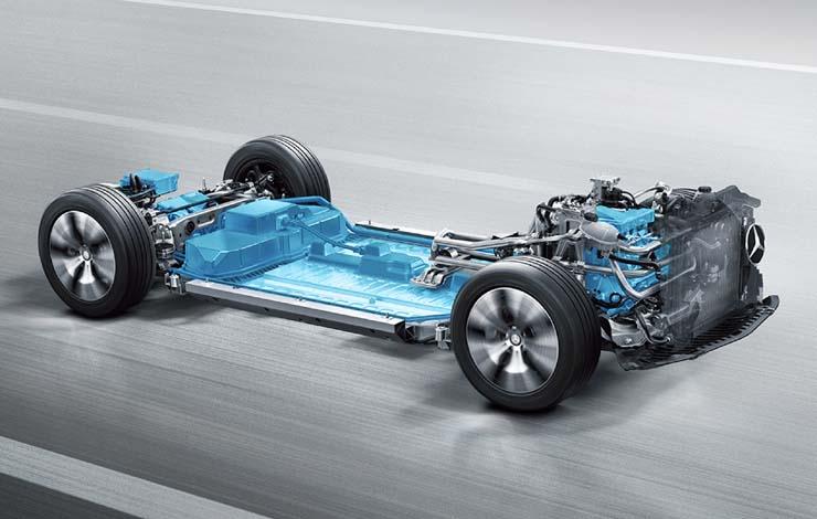 Универсальная платформа для электромобилей Mercedes-Benz