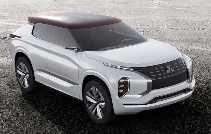 На парижском автосалоне состоится премьера Mitsubishi GT-PHEV Concept