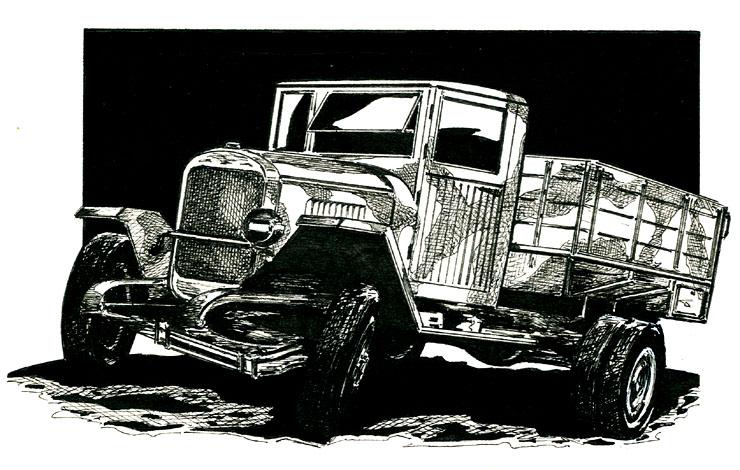 """""""ЗИС-5В"""". Цельнодеревянная кабина экономила на каждом грузовике более 100 кг металла"""