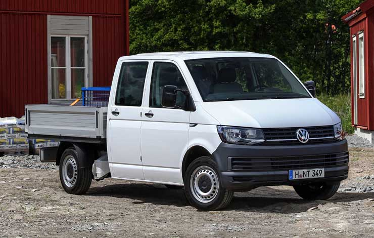 VW Transporter Double Cab