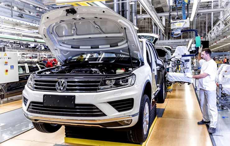 Завод Volkswagen в Братиславе