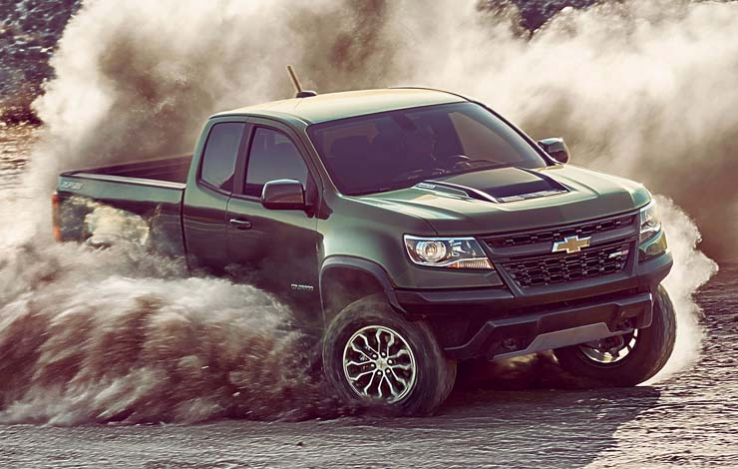 Chevrolet Colorado ZR2 – пикап в стиле extreme